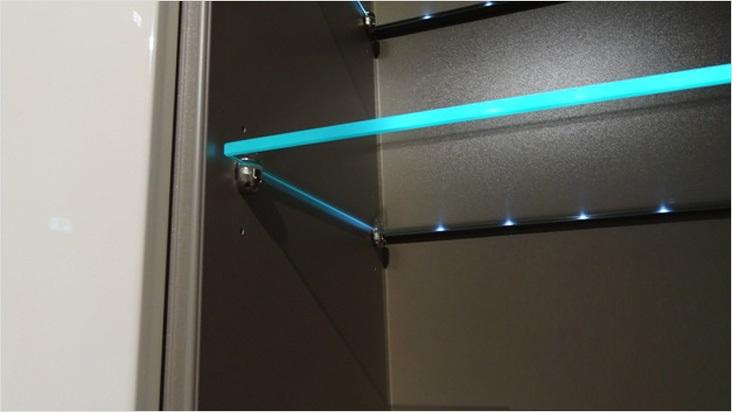Как сделать светодиодную подсветку стекла